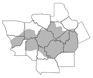 Middle Georgia county